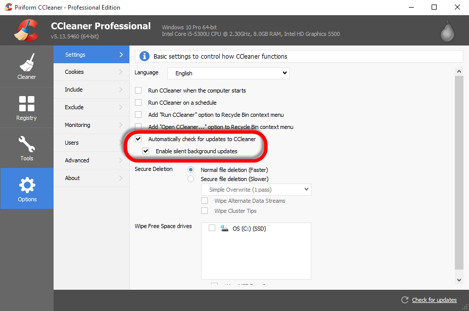How do I update CCleaner? – Piriform Support